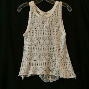 REWIND CROCKET TANK SZ SMALL